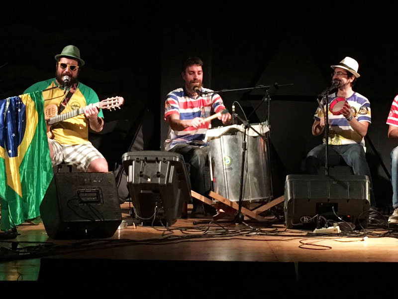 Coletivo do Bigode in concerto
